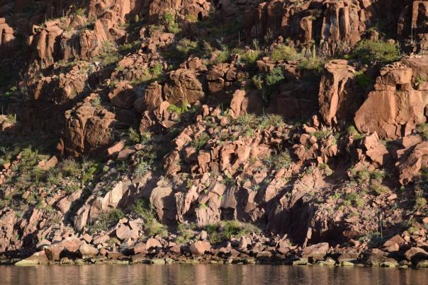 Formation de rochers