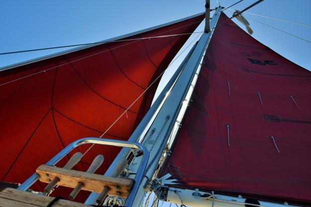 Wahkuna's sails