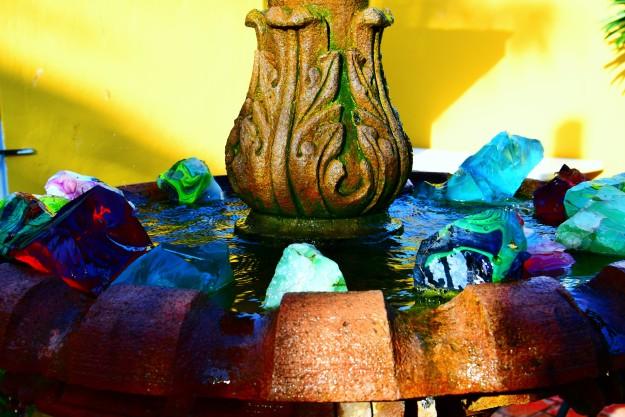 Les verres dans la fontaine de Ray