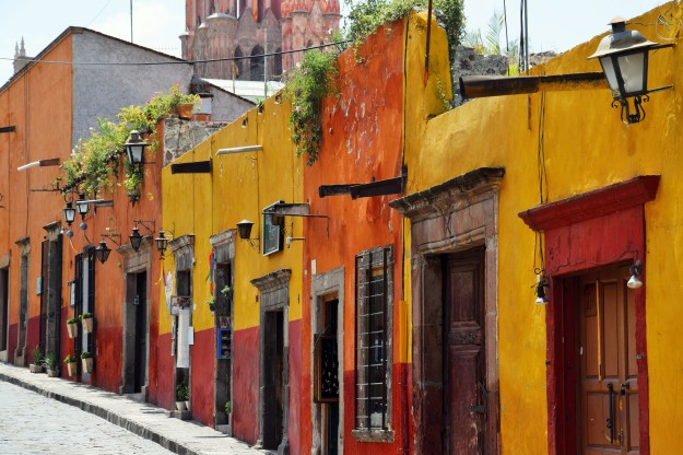 The streets of San Miguel de Allende