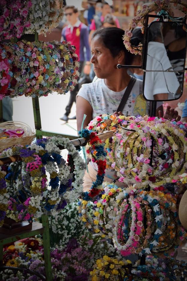 Flower crowns, San Miguel de Allende