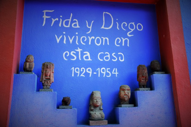 Frida et Diego vécurent dans cette maison de 1929 à 1954 Frida and Diego lived in this house from 1929 to 1954