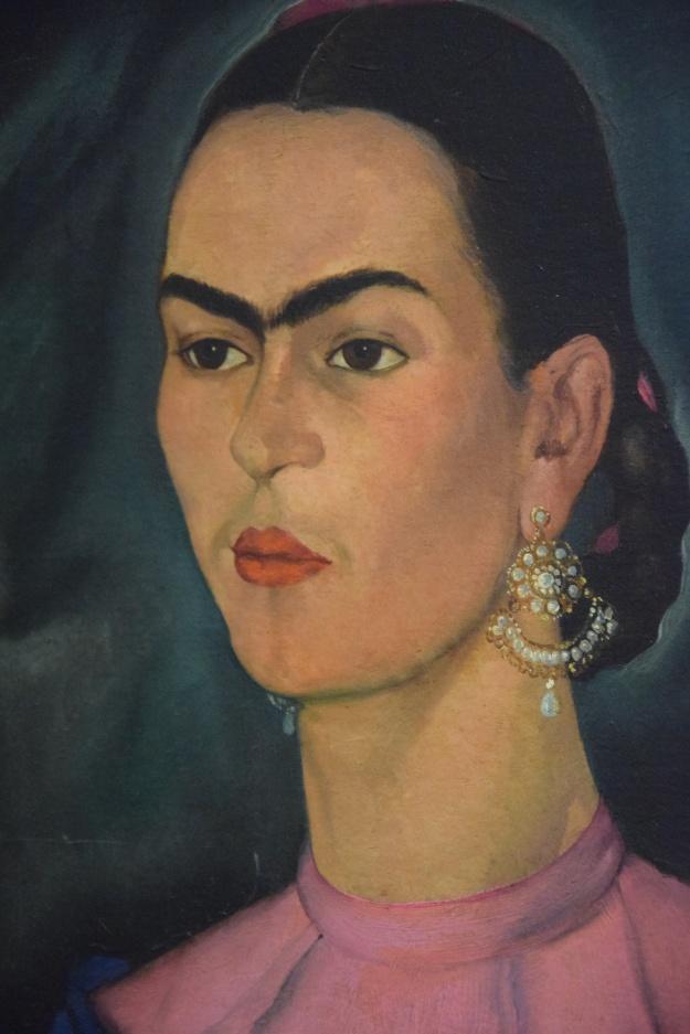 Auto portrait by Frida Kahlo