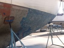 Wahkuna stripping antifouling 2