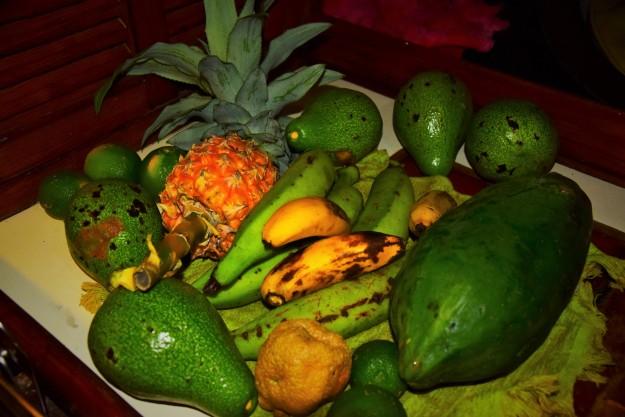 Autres fruits et légumes de Domingo et Kennedy.