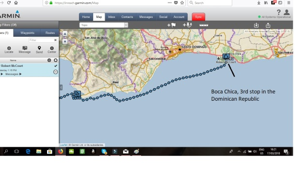 Boca Chica Map